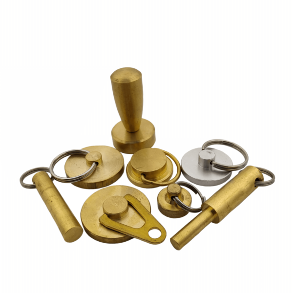 Заготовки для пломбиров под пластилин (латунь, алюминий)