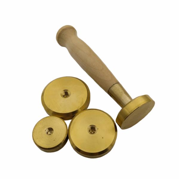Заготовки для пломбиров под сургуч (латунь)