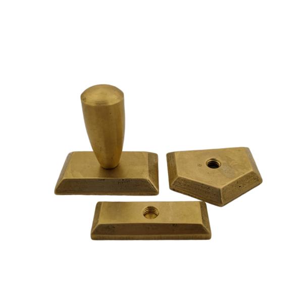 Металлические оснастки для настольных печатей (латунь)