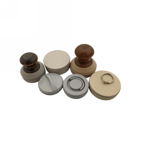 Металлические оснастки для карманных печатей (алюминий с покрытием)